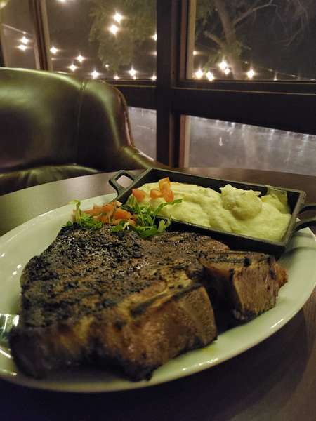 T bone steak special