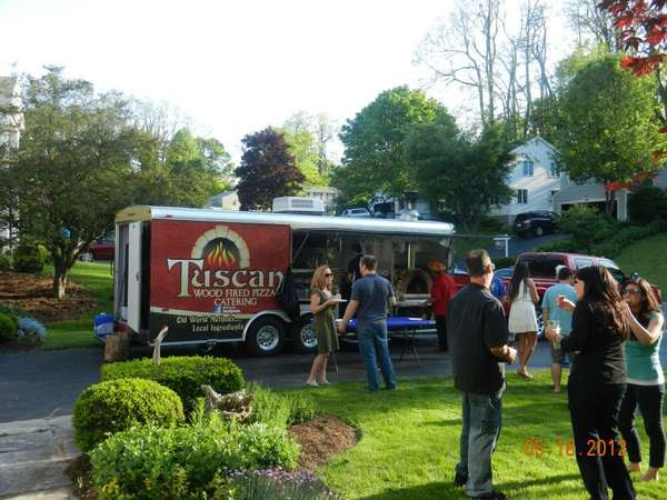 pizza truck at party