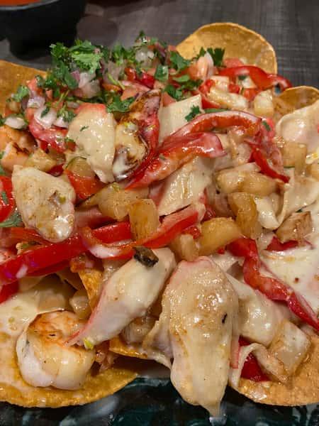 59. Seafood Nachos