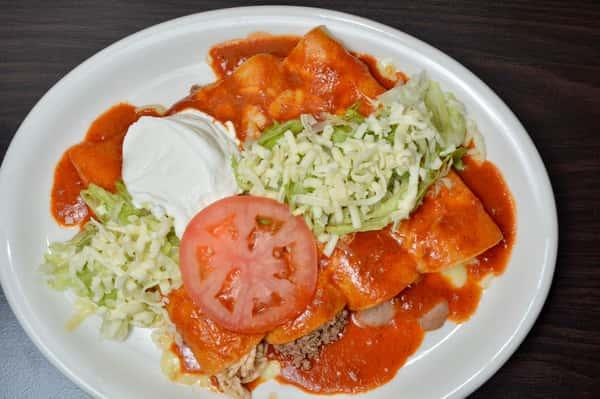 29. Enchiladas Supremas