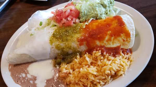 128. Burrito Azteca