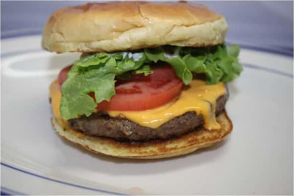 """The """"Beyond"""" Burger"""