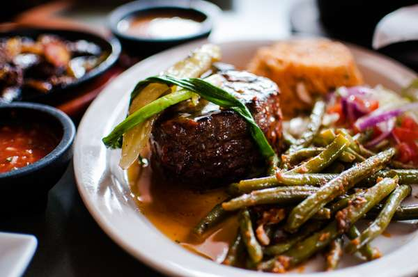 Fillet Mignon With Three Chile Butter Sauce