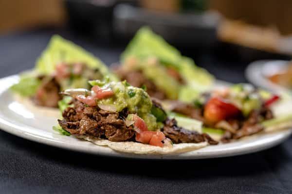 1. Steak or Chicken Fajita Taco