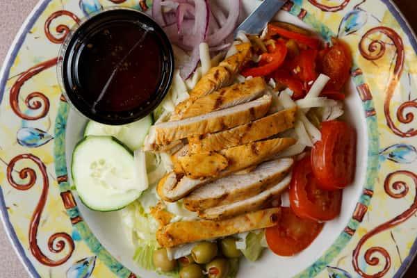 Grilled Chicken Salad Gluten free