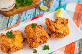 Buttermilk Lavender Fried Chicken