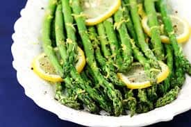 Asparagus with Lemon and Cracked Pepper
