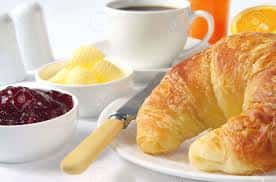 Croissants, Butter and Jam