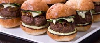 Kobe Beef Burger Slider