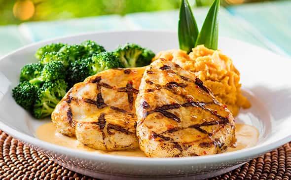 Grilled Chicken & Broccoli Brochette