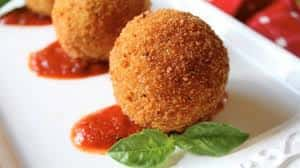 Arancini Balls with Housemade Marinara