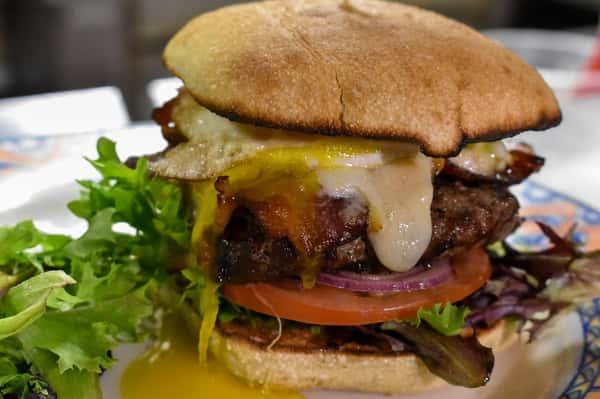 black angus burger