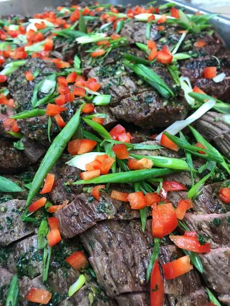 Grilled Beef at Event