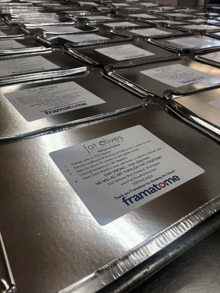 Corporate Take & Bake Meal