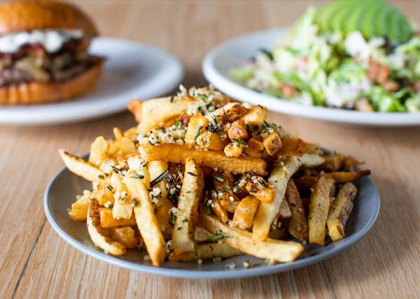 Garlic & Rosemary Fries