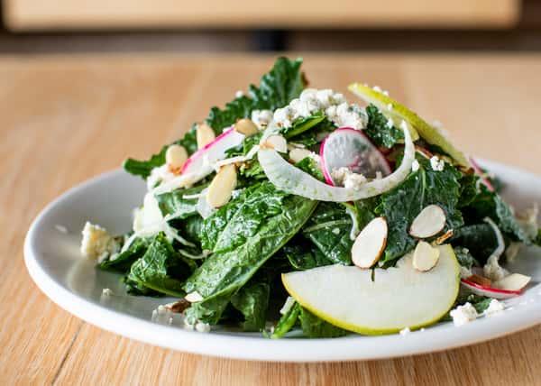 baby kale salad