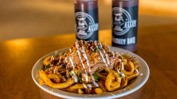 loaded smoked fries