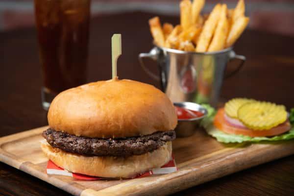 The Woodland's Wagyu Burger