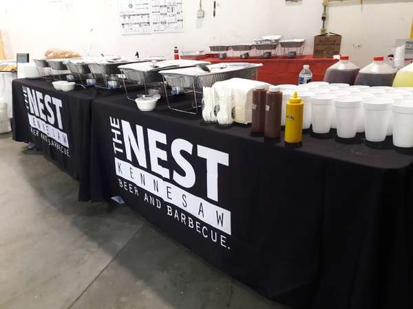 Off-site Customer Appreciation Luncheon Buffet