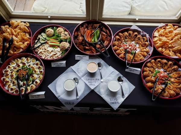 In-house Happy hour buffet