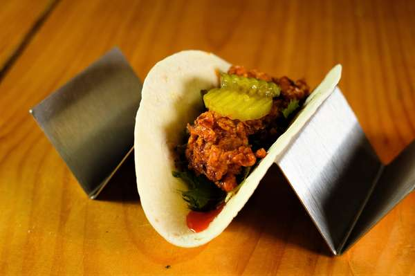Nashville Hot Chicken Taco