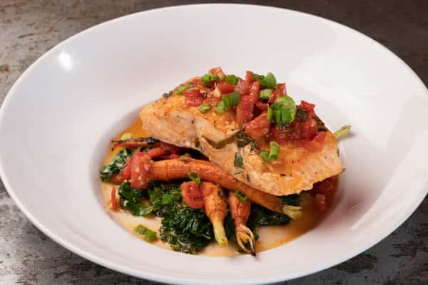 Pan Seared Salmon Filet