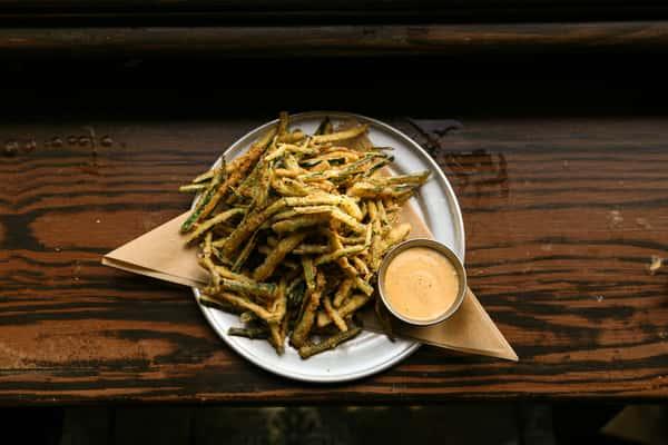 Skinny Zucchini Fries