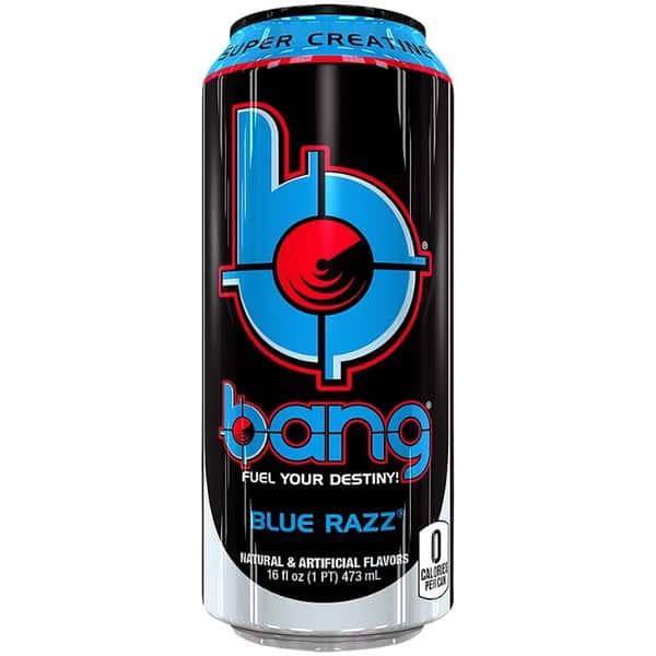 Bang Blue Razz Energy