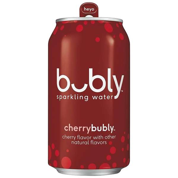 Bubly Cherry Mineral Water