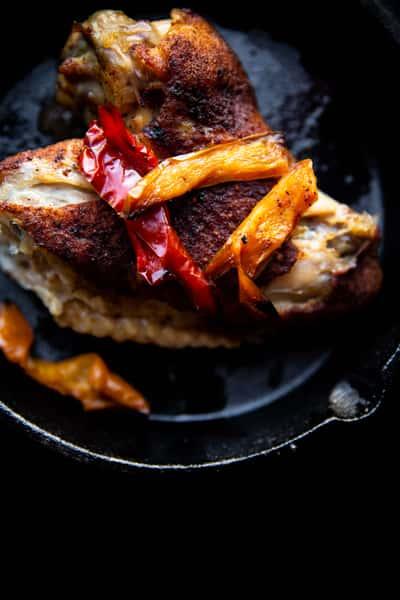 baked turkey wing