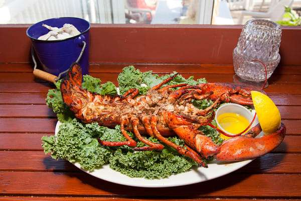 Jerome Jamaican Grilled Lobster