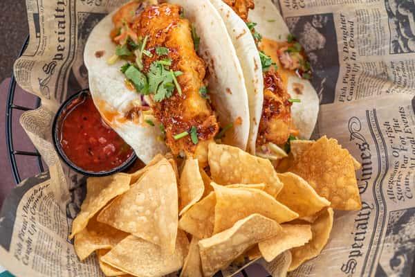 Fish or Shrimp Tacos