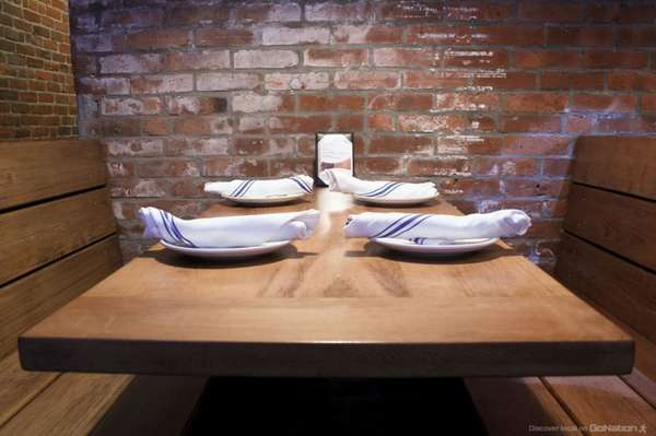 table with plates