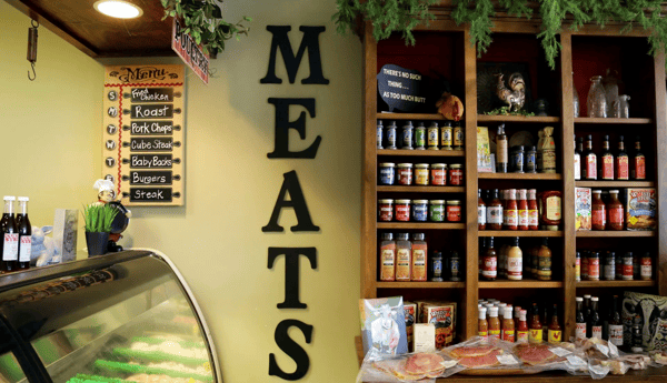 meats sign