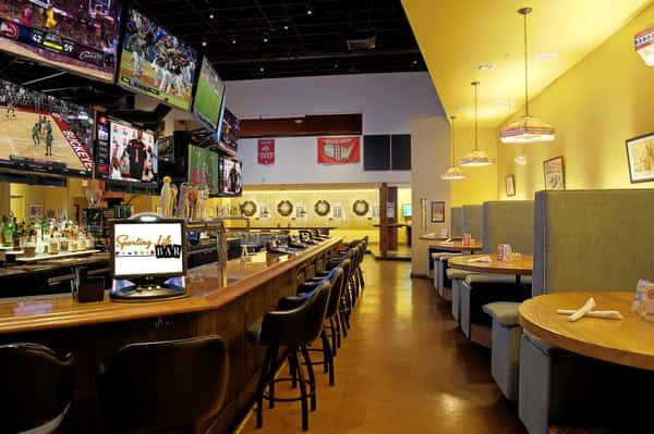 Interior bar and dining
