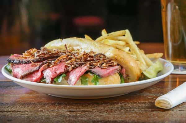 *Tri Tip Steak Sandwich