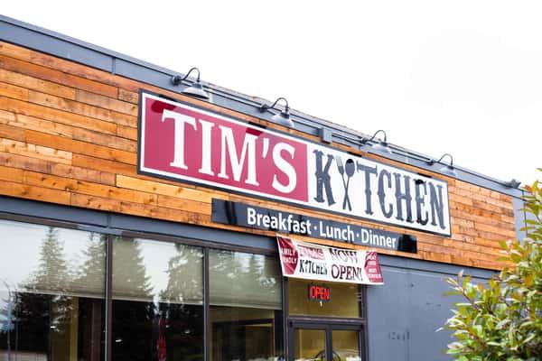 tim's kitchen exterior