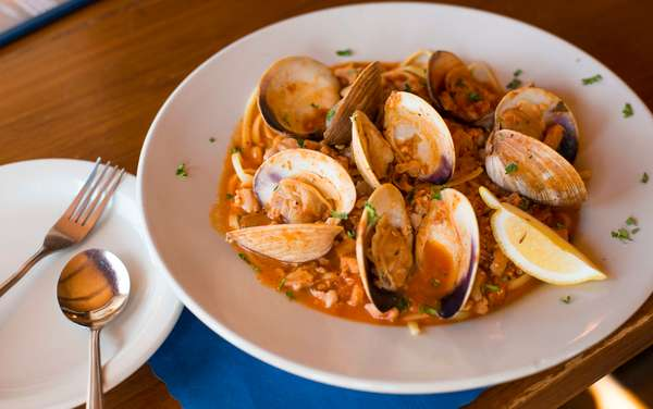 Red or White Clam Sauce