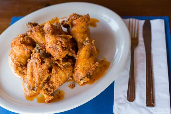 Our Famous Clam Bar Wings