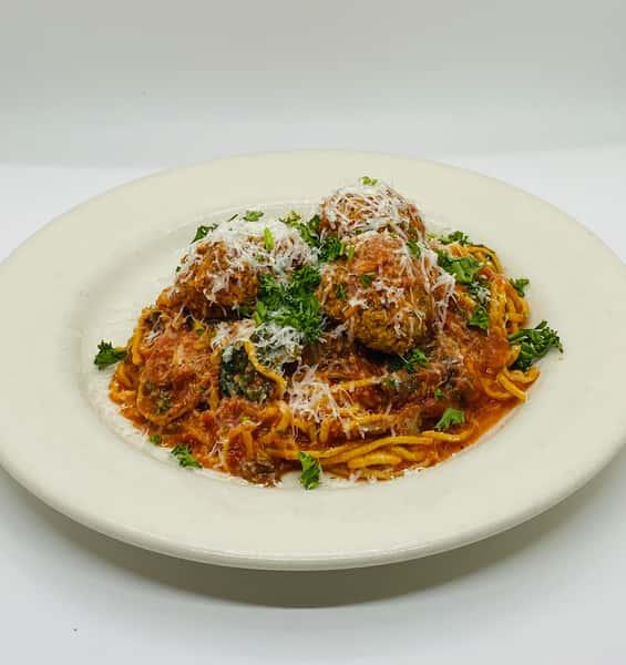 Adult Spaghetti & Meatballs