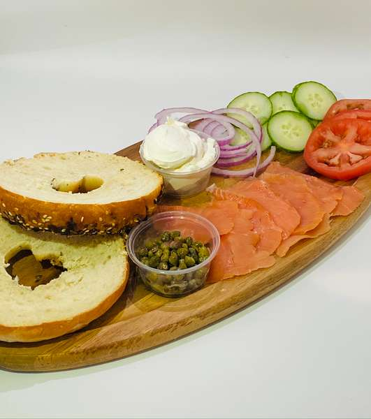Bagels and Smoked Salmon