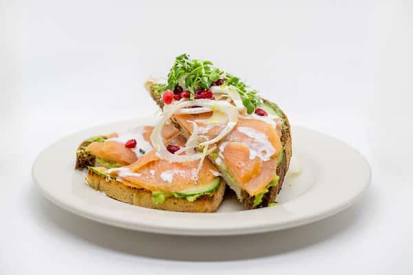 Salmon & Avocado Toast