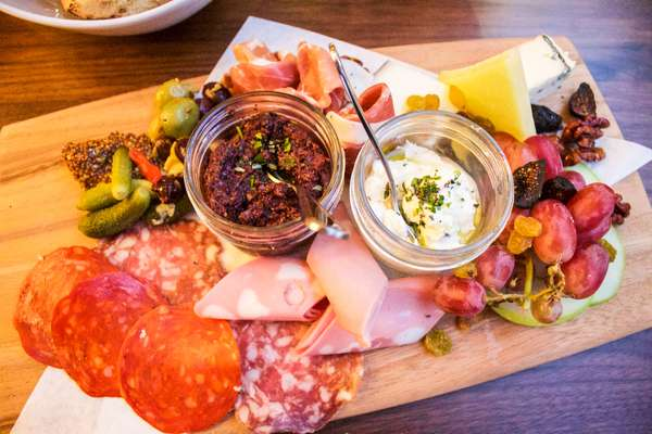 Artisan Cheese & Cured Meats Board