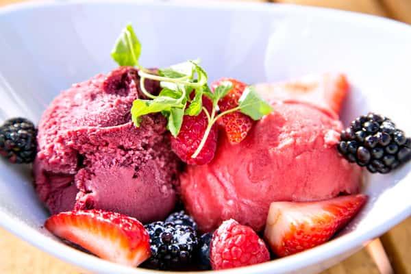 Black Berry & Cabernet Sauvignon Sorbet