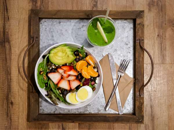 Fruit & Greens Salad