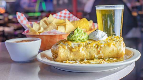 Monday Chimichanga