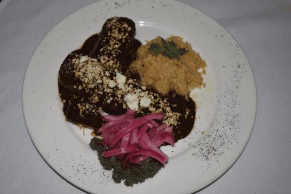 Chef's Mole Enchiladas