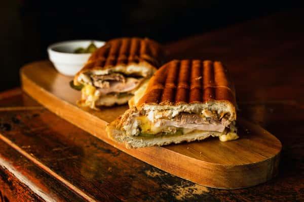 cuban grilled sandwich