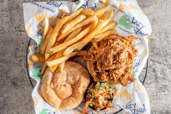 Pulled Pork BBQ Sandwich