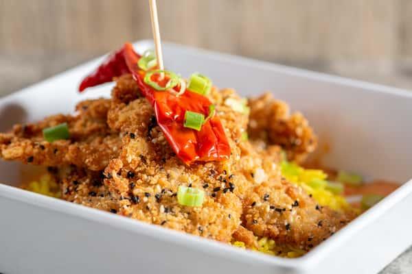 Chula Crispy Chicken Stack